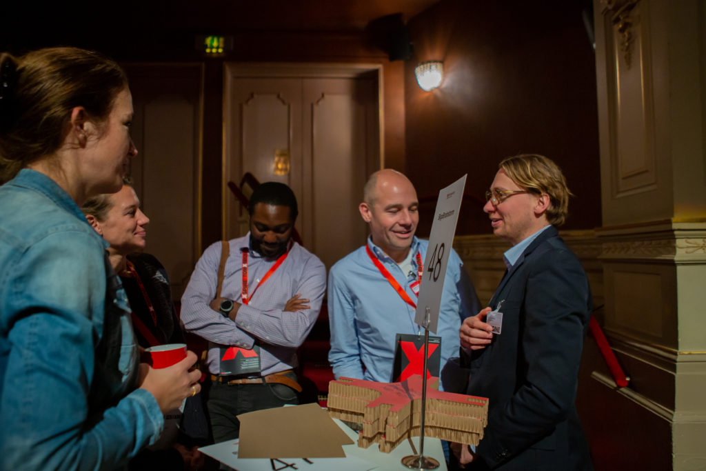 Trigger Speaker and Moderator at TEDx Amsterdam